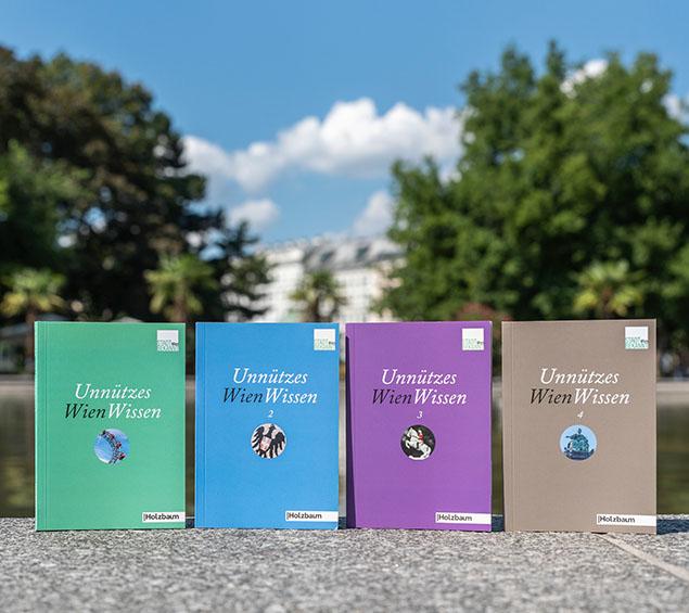 STADTBEKANNT Bücher - Unnützes WienWissen (c) STADTBEKANNT