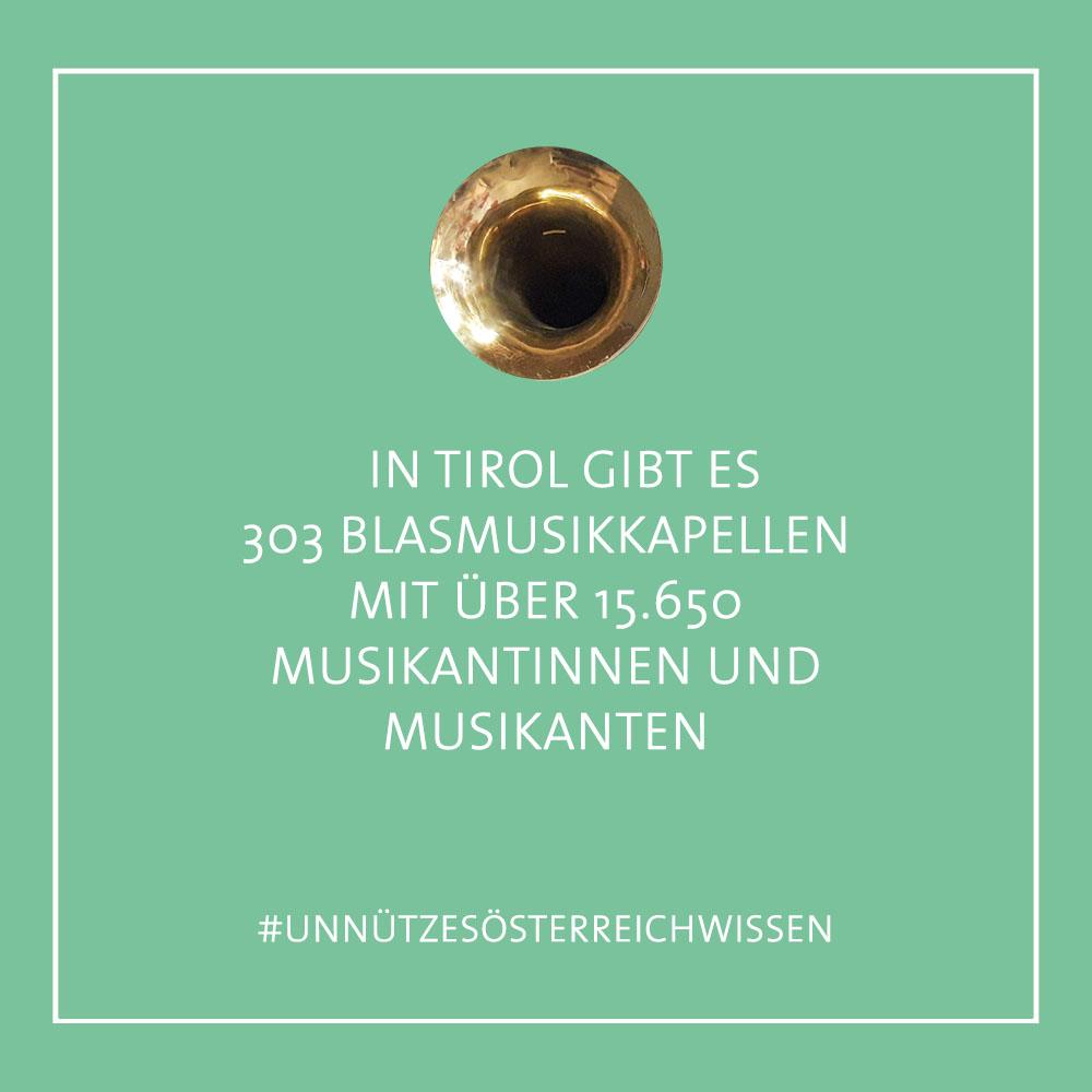 Unnützes InnsbruckWissen - Blasmusikkapellen (c) STADTBEKANNT