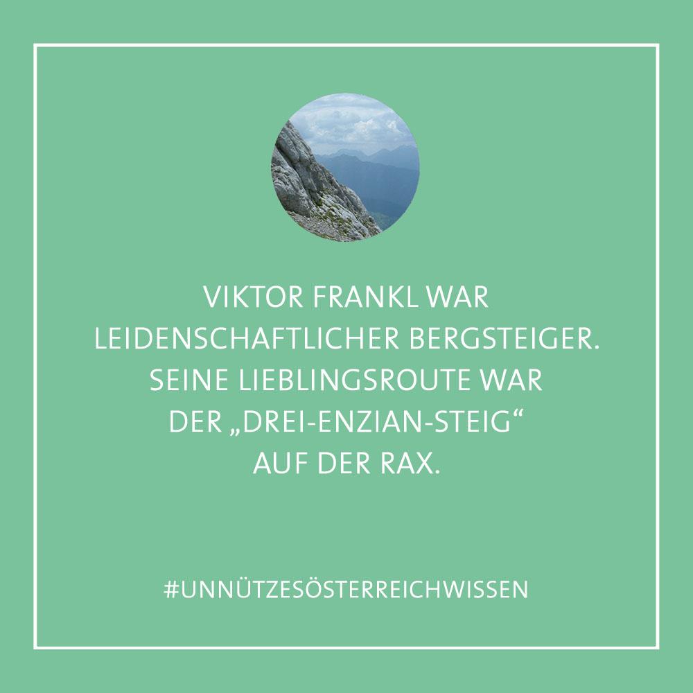 Unnützes ÖsterreichWissen - Rax Viktor Frankl (c) STADTBEKANNT