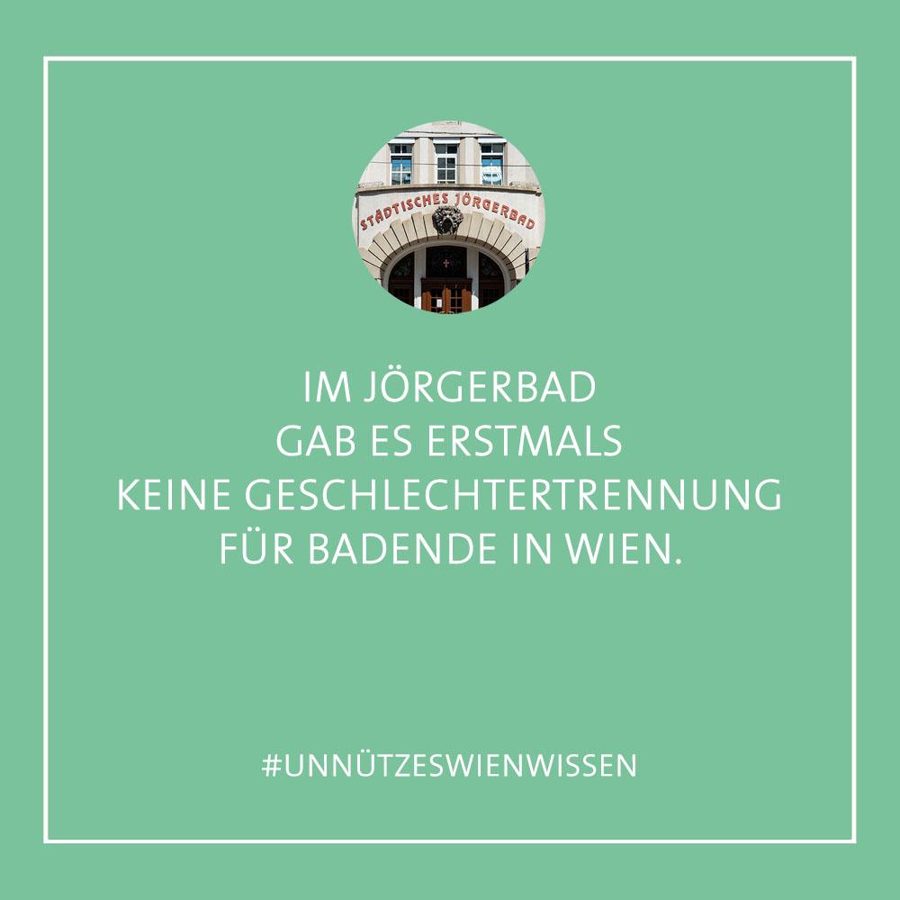 Unnützes WienWissen - Jögerbad (c) STADTBEKANNT