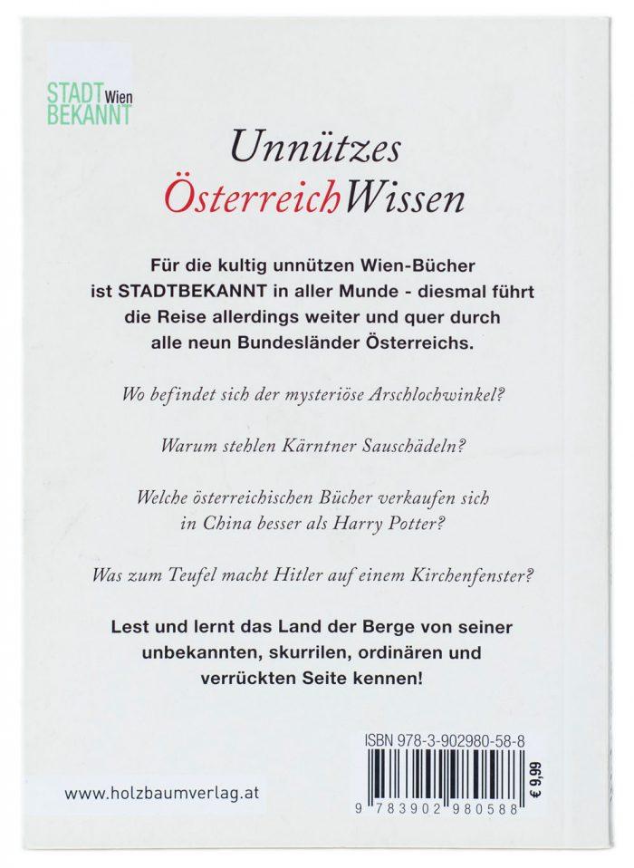 Unnützes ÖsterreichWissen (c) STADTBEKANNT