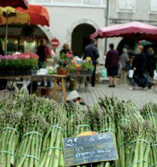 Spargel am Markt