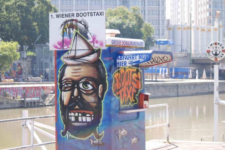Wassertaxi Foto: stadtbekannt.at