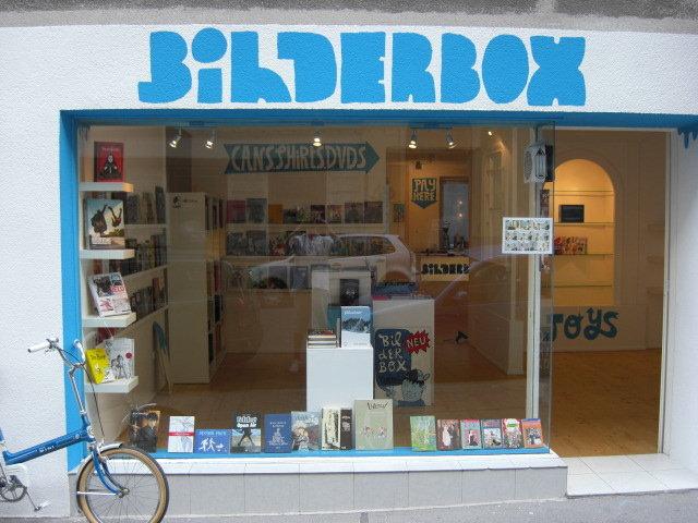 Eingang Bilderbox (c) stadtbekannt.at