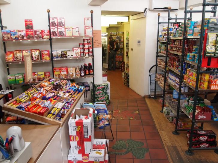 Verkaufstisch Bobbys Foodstore (c) STADTBEKANNT