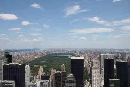 Rockefeller Center & Central Park