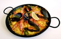 Paella Meeresfrüchte (c) Estancia Santa Cruz