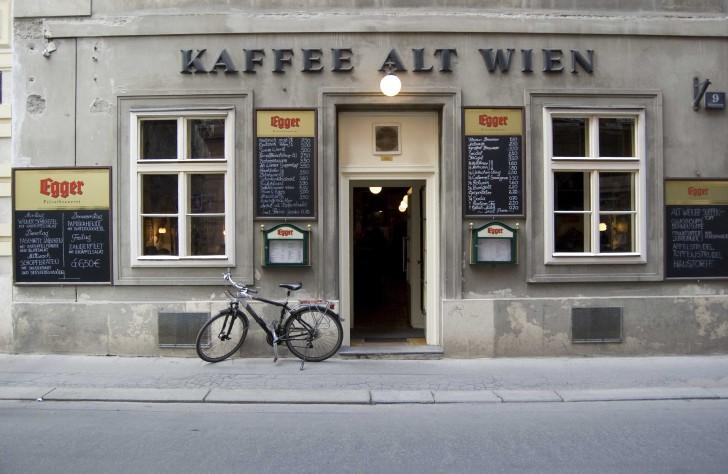 Eingang Kaffee Alt Wien (c) Alt Wien