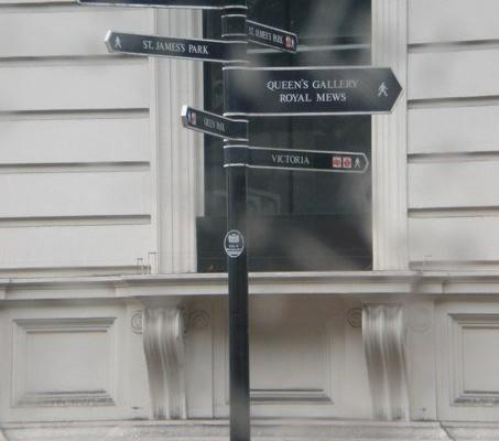 Wohin in London?