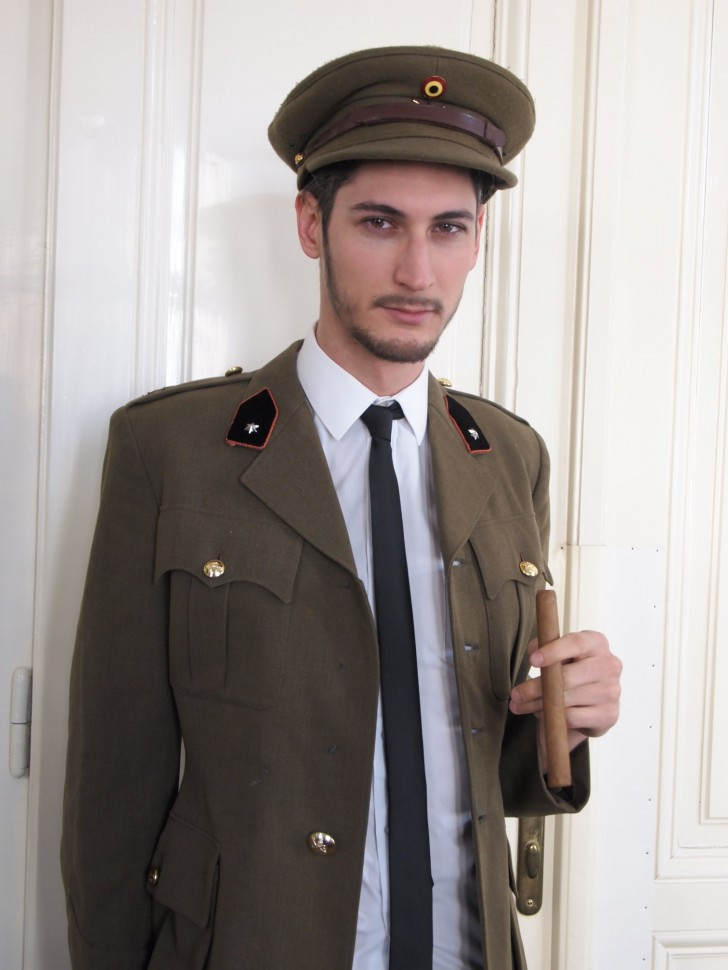 Verkleidung Offizier (c) STADTBEKANNT