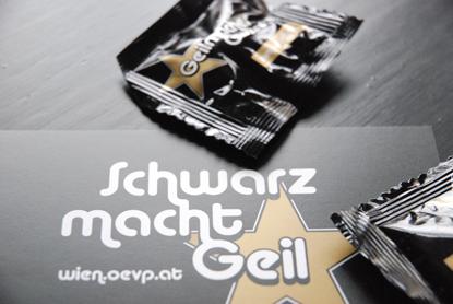 Schwary macht geil / Foto - STADTBEKANNT