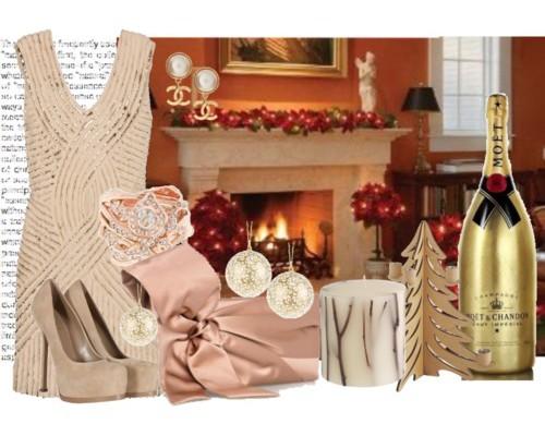 Das traditionell-elegante Weihnachtsoutfit für Frauen