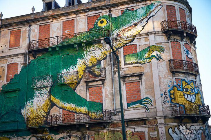 smart urban pioneers Lissabon Streetart