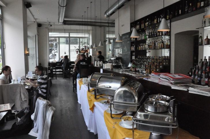 Brunch im Caffé Latte