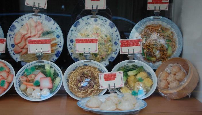 Chinesisch Essen in Paris