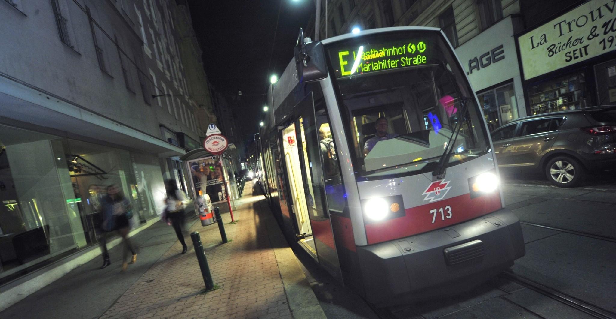 Nachtstraßenbahn