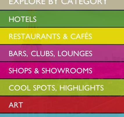 Restaurants, Bars, Shops oder Sehenswürdigkeiten