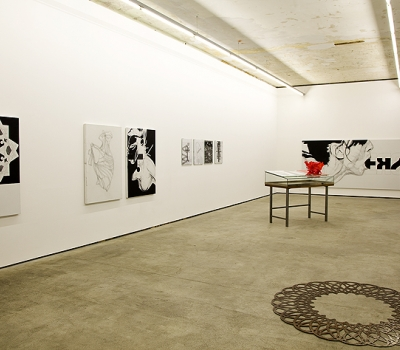 Franz Graf: Blick in die Ausstellung