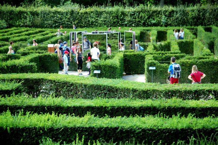 Labyrinth Schönrbunn (c) STADTBEKANNT