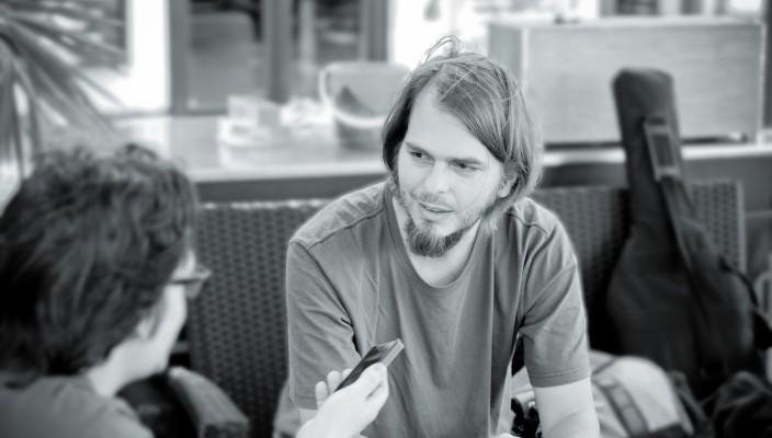 Alex Machacek im Gespräch