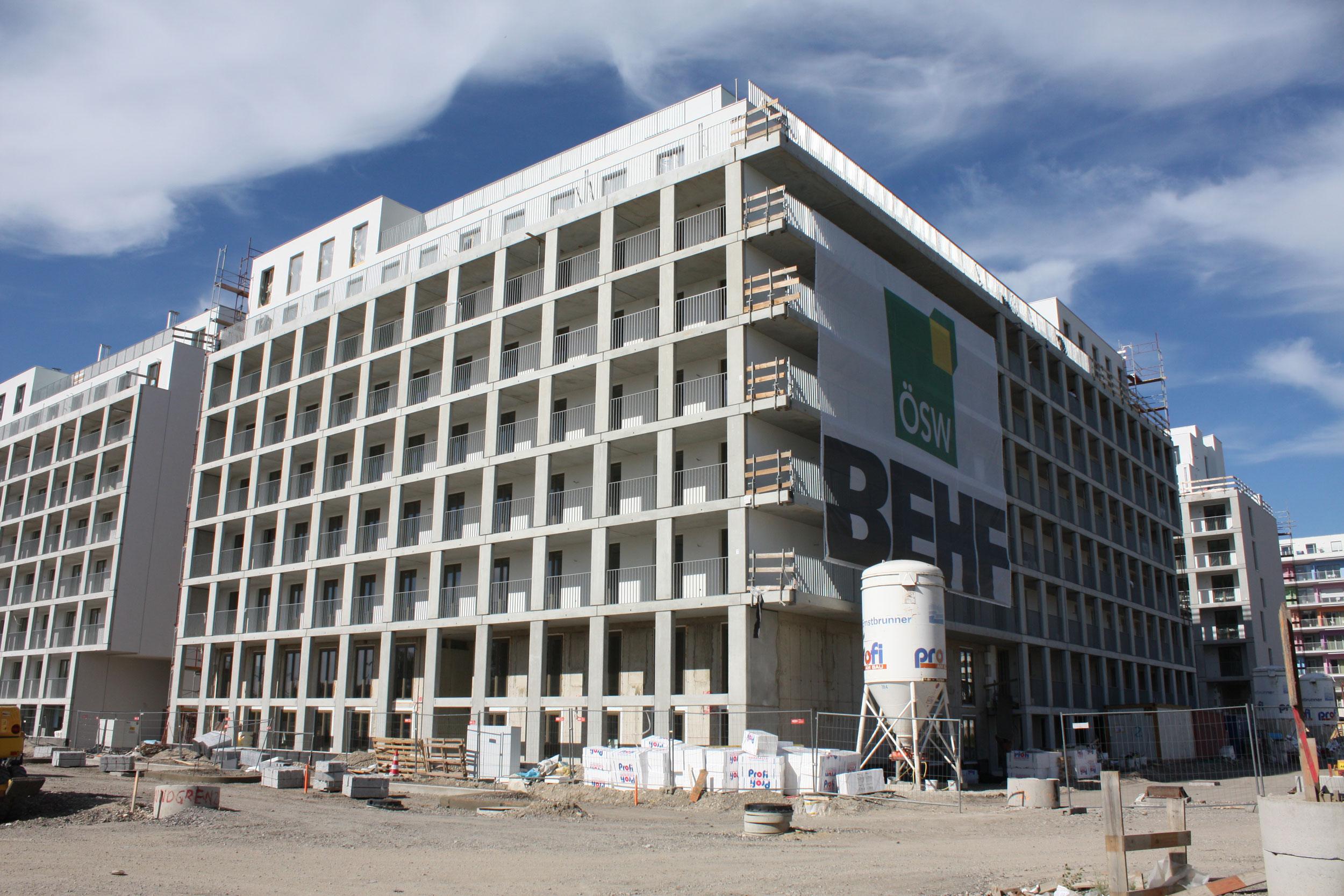 Baustelle Citycom2_ÖSW_BEHF Architekten