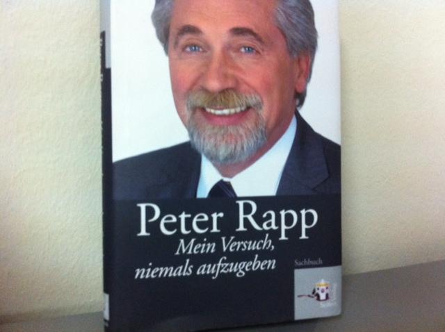 Buchcover Peter Rapp