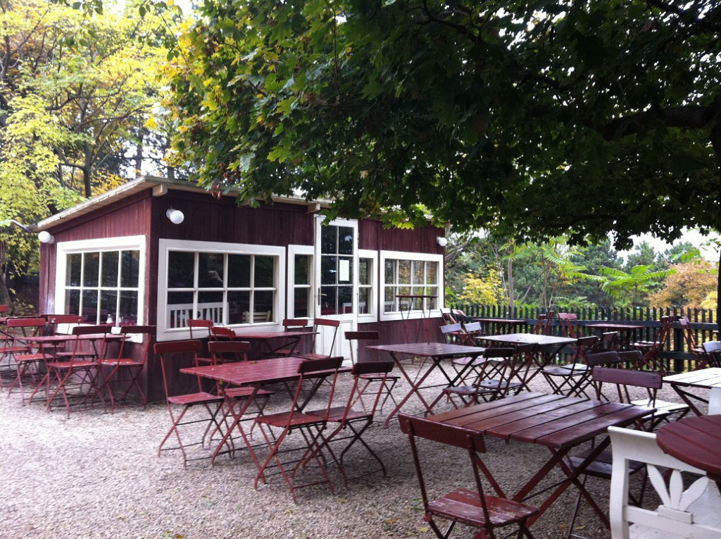 Salettl Pavillon Gastgarten