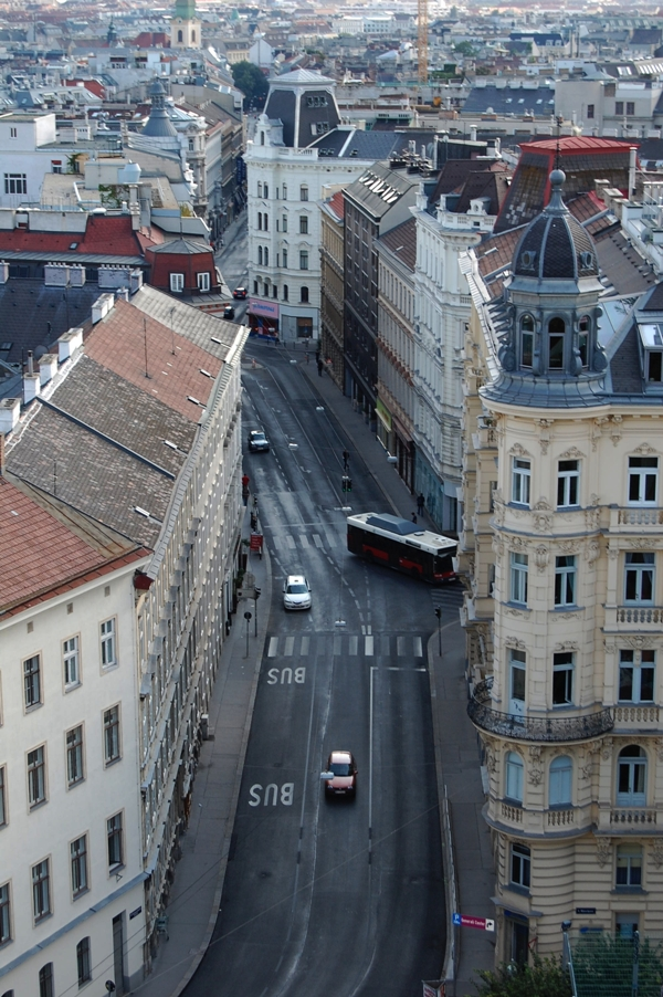 Über den Dächern Wiens