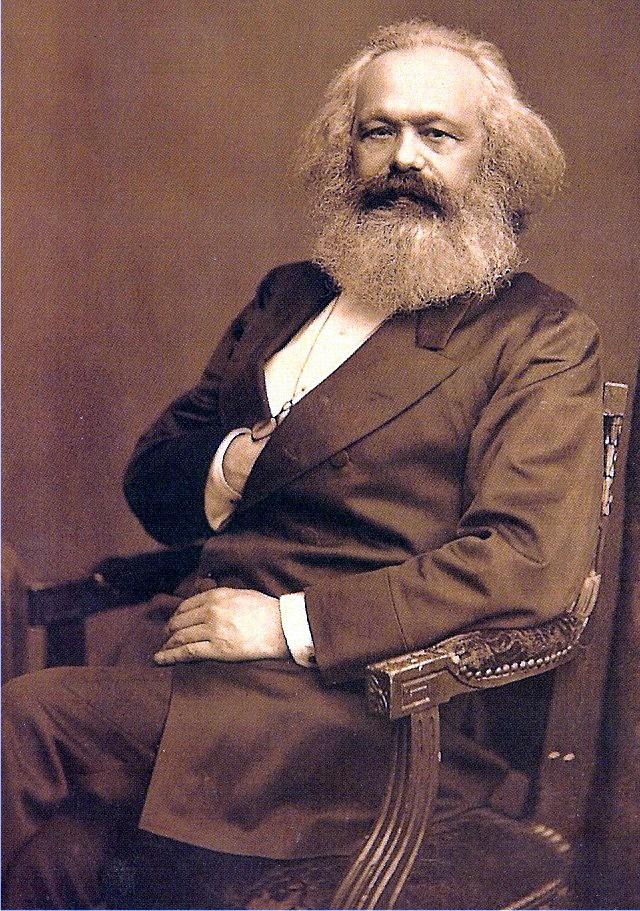 Karl Marx - von John Mayall jun.