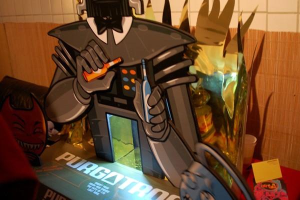 Lokalaugenschein bei der Roboexotica 2011
