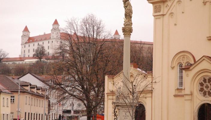 Die Bratislava Burg