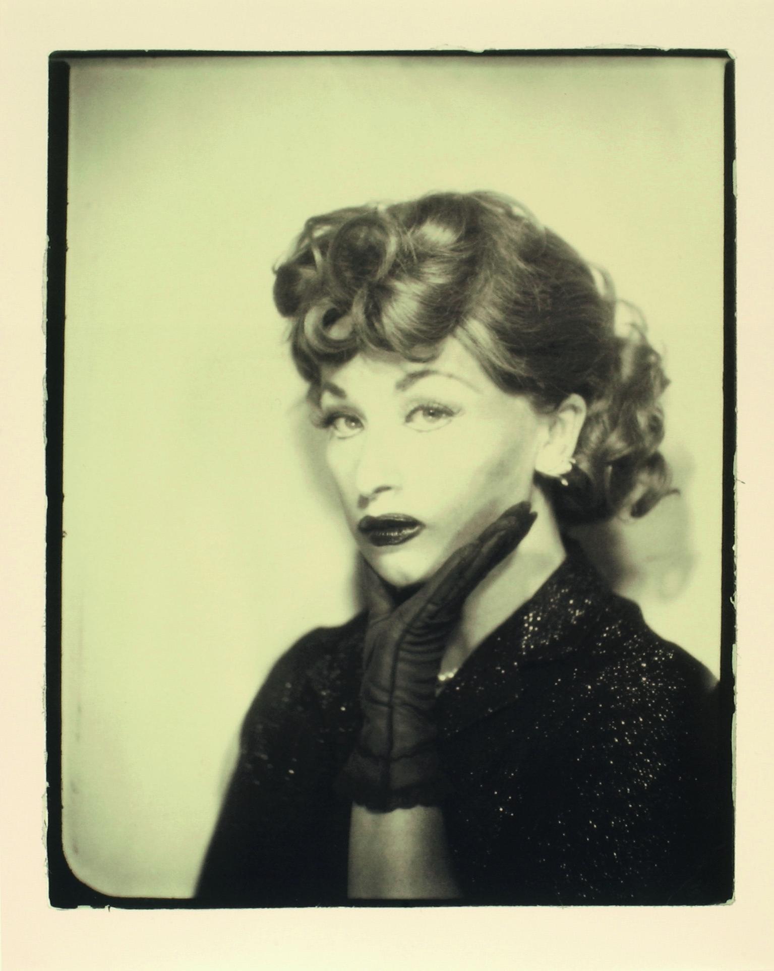 Cindy Sherman Untitled (Lucille Ball), 1975 / 2001 Gelatinesilberabzug; 30,2 x 23,8 cm © Cindy Sherman / SAMMLUNG VERBUND, Wien
