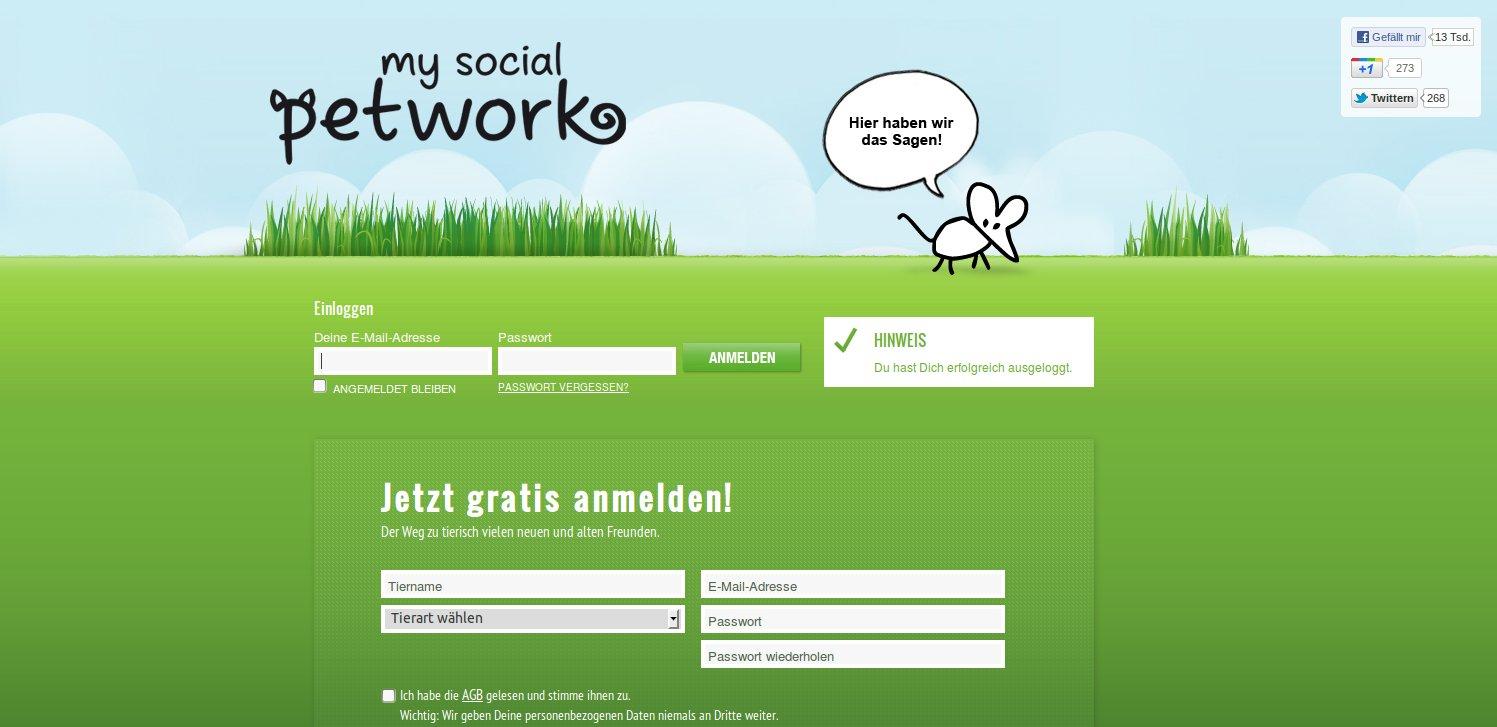mysocialpetwork.com