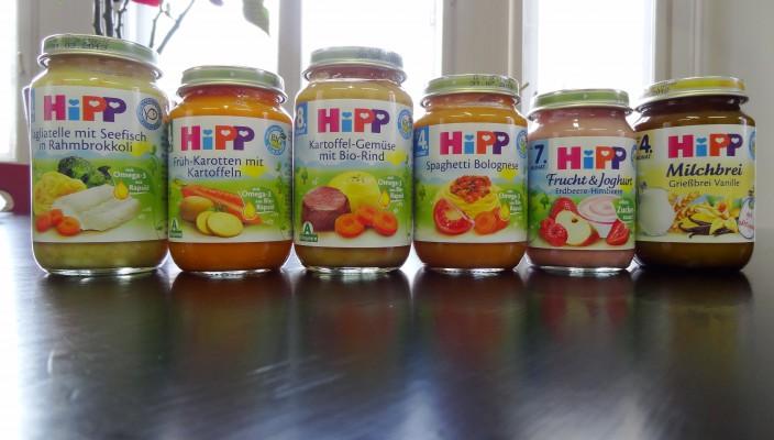 Der große stadtbekannt Hipp-Test