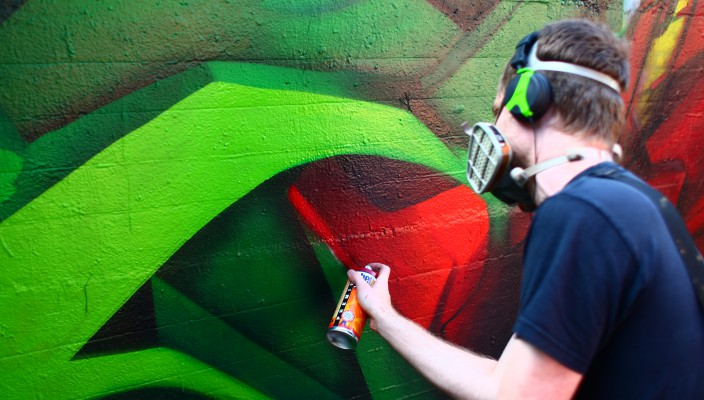 Graffiti in Wien – Die urbane Antwort auf ein verkrampftes Kunstverständnis.