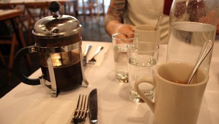 Frühstücken in Williamsburg