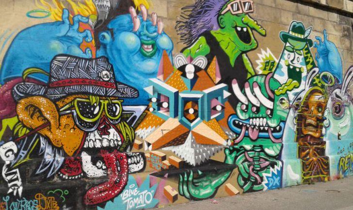 Graffitti Trippy! Foto: stadtbekannt.at