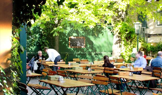 Silberwirt Gastgarten (c) stadtbekannt.at