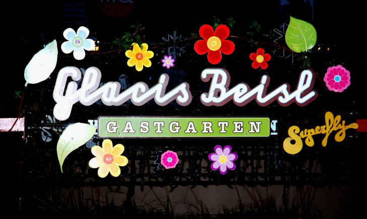 Glacis Beisl Gastgarten (c) Glacis Beisl
