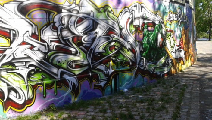 Graffiti? Streetart? We like!