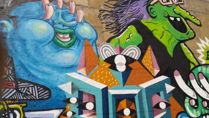 Graffiti - Urbane Kunst im öffentlichen Raum
