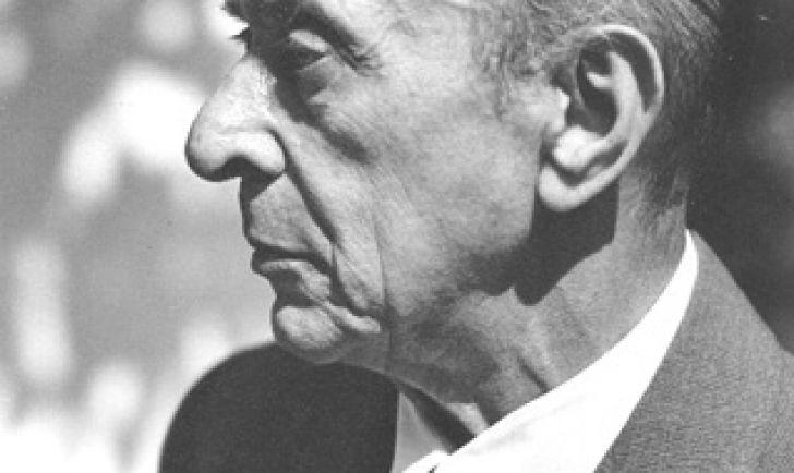 Arnold Schoenberg (c) Florence Homolka