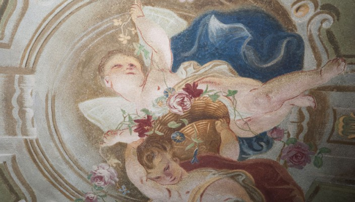 Restautant Schubert, Barockzimmer Detail