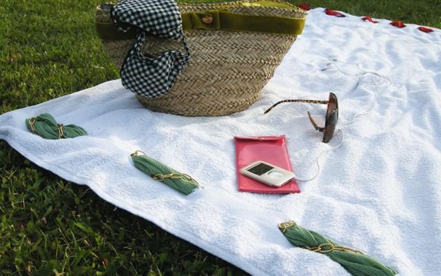Ein Strandhandtuch für Individualisten