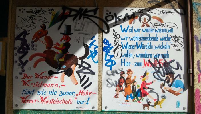 Street Art am Naschmarkt