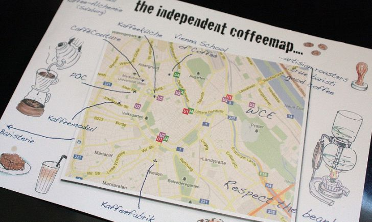 The independent Coffeemap