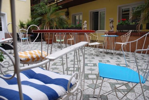 Hotel am Brillantengrund Gastgarten (c) Hotel am Brillantengrund