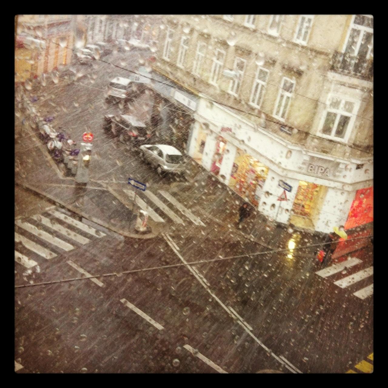 Regen in Wien