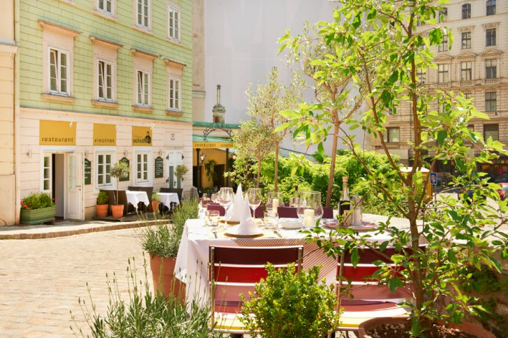 9. Schanigarten, Restaurant Schubert