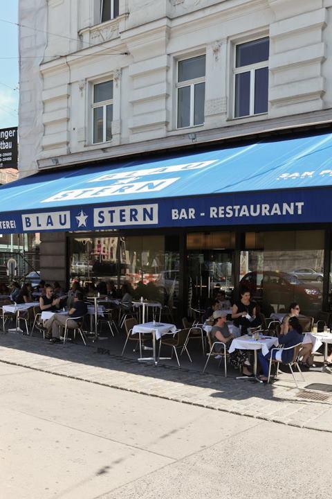 Cafe Blaustern Schanigarten (c) Cafe Blaustern